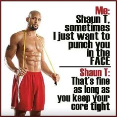 It's all good as long as you keep your #core #tight
