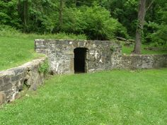 root cellar entrance