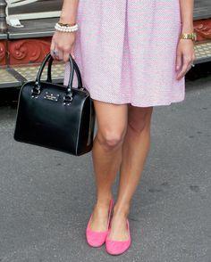 Tweed at Sacre Coeur. Channeling Chanel in tweed, pearls, and huge sunnies. #pbinparis #fashionblogger #paris