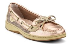 Rose gold sperrys, i need to get these!