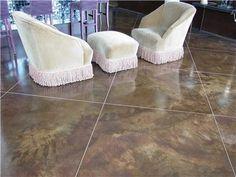 Brown Concrete Floors Stockness Construction Inc Hugo, MN