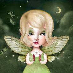 Tinkerbell by Lisa Falzon