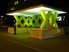 Ettore Sottsass Busstop in Hannover
