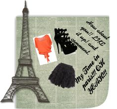 """my time in paris how about you"" by lowen-1 ❤ liked on Polyvore"