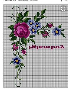 1 million+ Stunning Free Images to Use Anywhere Cross Stitch Borders, Cross Stitch Rose, Cross Stitch Flowers, Cross Stitch Designs, Cross Stitch Patterns, Hand Embroidery Videos, Crewel Embroidery, Cross Stitch Embroidery, Embroidery Patterns