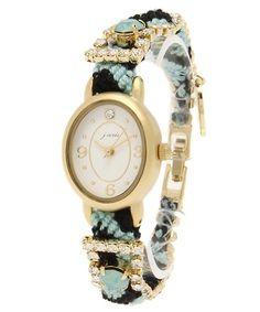 And A KOMONO(アンドエーコモノ)の2配色ミサンガ時計(腕時計)|サックスブルー