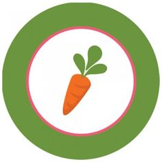 2 inch Easter Carrot Sticker