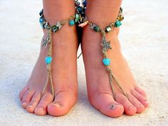Hoi! Ik heb een geweldige listing gevonden op Etsy https://www.etsy.com/nl/listing/130795922/barefoot-sandals-barefoot-beach-jewelry