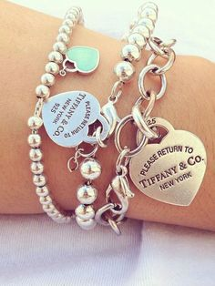 Tiffany And Co Heart Bracelet Jewelry | Outlet Value Blog