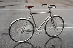 Horse Cycles Stainless Townie