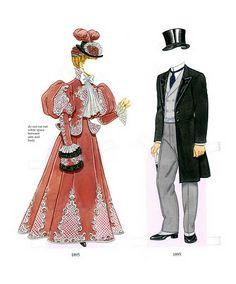 Edwardian Costumes   Gabi's Paper Dolls