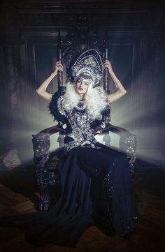 Janelle Pietrzak (Explored Exposure) – Kristina Vaiciunaite • Dark Beauty