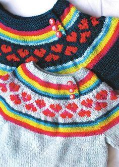 I heart rainbows sweater