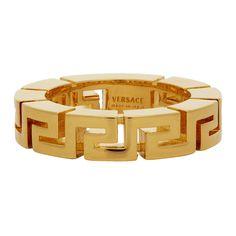 Versace Ring Mens, Versace Men, Versace Brand, Versace Logo, Versace Blue, Key Wallet, Swarovski Jewelry, Fine Jewelry, Jewellery