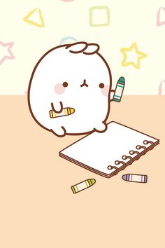 Molang is artistic.
