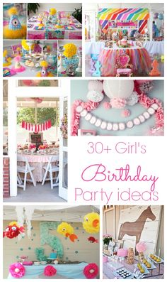 30 girl's Birthday Party