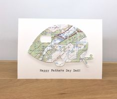 Personalised Map Retro Caravan Card - Card for Any Occasion - Handmade Greeting Card by MapMojo on Etsy Handmade Greetings, Greeting Cards Handmade, Happy Fathers Day, Happy Mothers, Personalised Gifts Handmade, New Home Cards, Retro Caravan, Moving House, Card Card