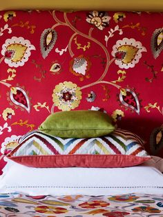 Fabrics from the Havana Collection by Jane Churchill