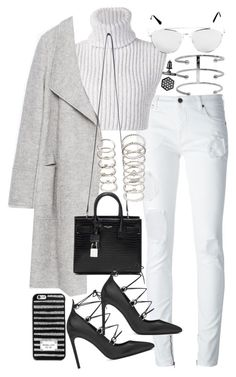 """Untitled #19328"" by florencia95 ❤ liked on Polyvore featuring County Of Milan, Baja East, Zara, Yves Saint Laurent, Simply Vera, MICHAEL Michael Kors and Forever 21"