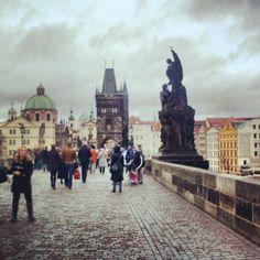 Ponte Carlo, Prague, Czech Republic.