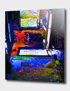 Discover «ATELIER», Limited Edition Aluminum Print by Rolando Duartes - From 59€…