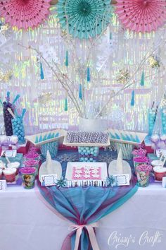 Frozen Birthday Party Ideas | Photo 2 of 23 | Catch My Party