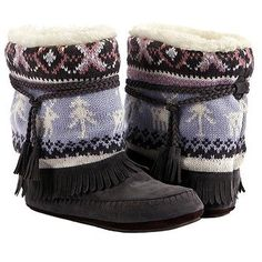 Muk Luks  Women's Ricki Slipper Boot at Famous Footwear