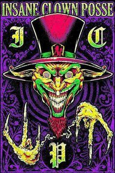 Forks up Forks down Music Pics, Art Music, Dark Fantasy Art, Boris Vallejo, Royal Ballet, Icp Joker Cards, Evil Clown Tattoos, Juggalo Family, Trippy Cartoon