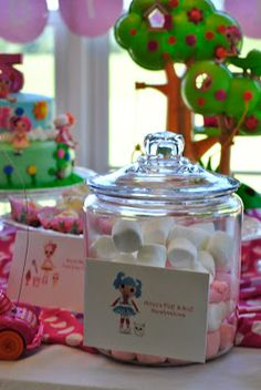 One Creative Housewife Lalaloopsy Birthday Partycute Ideas