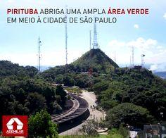 O pico do Jaraguá, localizado no parque de mesmo nome, é um dos principais atrativos do bairro Pirituba, localizado na zona norte de São Paulo.
