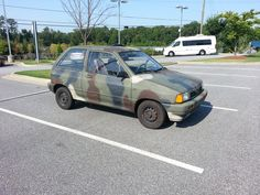 Who Needs A 4x4 When You Have An 89 Ford Festiva Another Gem From