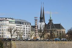 Notre-Dame Cathedral, Luxembourg. ◆Luxembourg - Wikipedia http://en.wikipedia.org/wiki/Luxembourg #Luxembourg