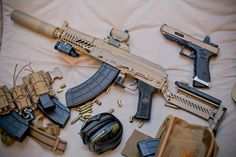 Airsoft hub is a social network that connects people with a passion for airsoft. Talk about the latest airsoft guns, tactical gear or simply share with others on this network Survival Weapons, Weapons Guns, Guns And Ammo, Tactical Pistol, Tactical Gear, Battle Rifle, Hunting Guns, Military Guns, Cool Guns