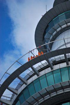 SkyWalk Sky Tower - Auckland, New Zealand