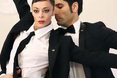 Sabrina Brazzo, the étoile of Teatro alla Scala (www.sabrinabrazzo.com) with Andrea Volpintesta in a unique performance for Tombolini at Pitti Uomo.