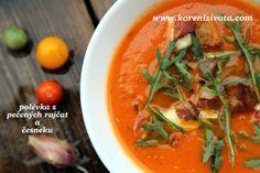 polévka z pečených rajčat a česneku Thai Red Curry, Food And Drink, Ethnic Recipes