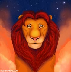 """(D)ad (N)ame (A)dam: From One Man (Adam), GOD made All! He has given PROOF of this to everyone by """"RAISING HIM"""" from the DEAD! Acts17 ✝️...🕊❤️ Website: AdamsAlive.Com Youtube: AdamsAlive 4kids Lion King Simba, Lion Of Judah, A Dogs Purpose Movie, Flower Feild, Dumbo Movie, Rainbow Lion, Brown Puppies, Raise The Dead, Pippi Longstocking"""