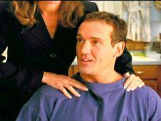 DAWSON'S CREEK: Mitch prepares for haircut.