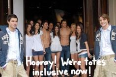 Abercrombie & Fitch caves into pressure to add larger sizes!