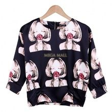 European Summer HOT Women Casual Shirts Vintage O-neck Polyester 3/4 Sleeve Ladies Floral Tops Womens Blouses Camisas Mujer YNN(China (Mainland))