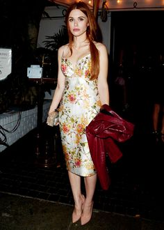 Holland Roden Leaves The Young Hollywood Party at Chateau Marmont on February 20, 2015