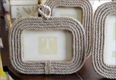Nautical, Cape Cod, Rope Frames  | Fein Things | Centerville | Cape Cod