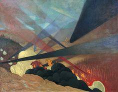 La bataille de Verdun (1916), 1917, by Félix Vallotton. Musée de l'armée