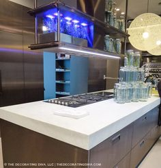 bronze kitchen finish stainless steel arclinea milan trend spotted  | The Decorating Diva, LLC #kitchen #design #trends
