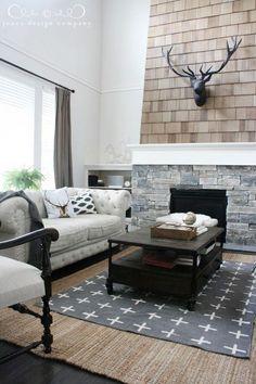 our house refresh (new floors + white walls) (via Bloglovin.com )