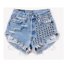VINTAGE SHORTS ❤ liked on Polyvore