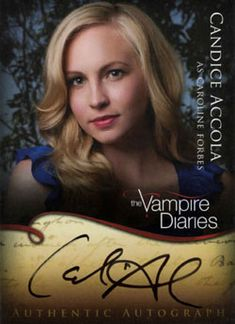 Candice Accola as Caroline Forbes (Vampire)