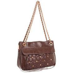 Bags,bags,bag,bag  Rebecca Minkoff Swing Shoulder Bag, Mocha - designer shoes, handbags, jewelry, watches, and fashion accessories | endless.com