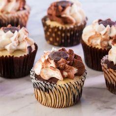Marble Cupcakes, Gluten Free #cupcakes #cupcakeideas #cupcakerecipes #food #yummy #sweet #delicious #cupcake