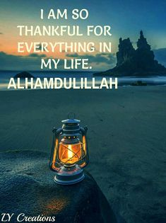 I am so thankful for everything in my life.